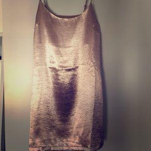 Simple pale pink dress! Spaghetti strap !